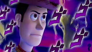 KINGDOM HEARTS 3: Woody's Stardust Crusaders