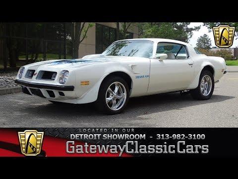 1975 Pontiac Trans Am Stock # 931-DET