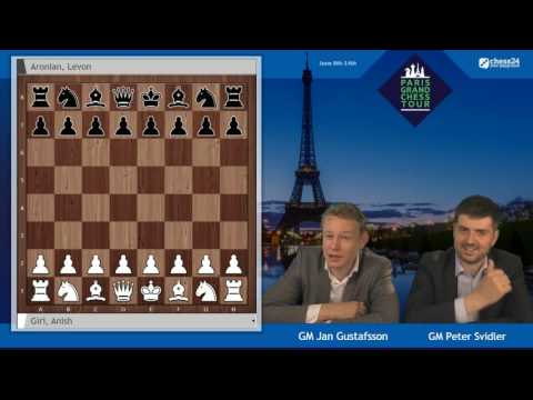 Paris Grand Chess Tour - Rapid Round 1 - Live commentary by Jan Gustafsson and Peter Svidler