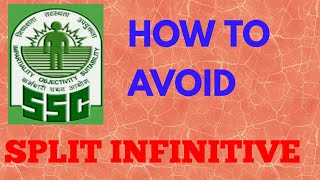 HOW TO AVOID SPLIT INFINITIVE by english wizard #englishwizard