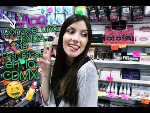 Tour por una TIENDA de MAQUILLAJE en el CENTRO-CDMX!+Vlog Meet & Greet Makeup Tour♡-Vico
