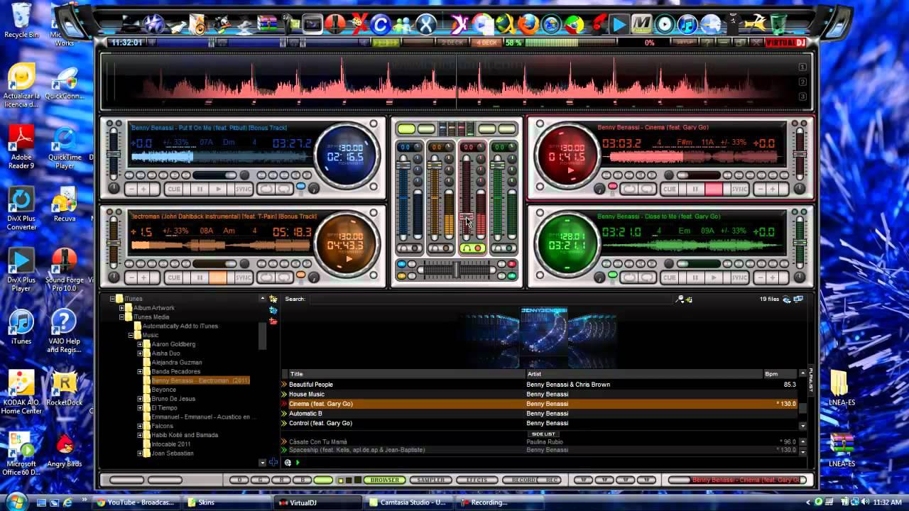 Mixlab 4 deck skin
