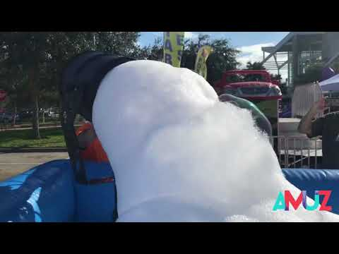 Commercial Foam Party Equipment Rental Service In Montreal