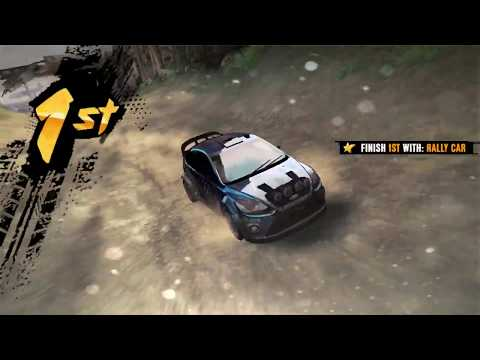 AsphaltXtreme rally cars I wreck my car 3 time but still win a game