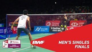 MS | SHI Yuqi (CHN) [3] vs Kento MOMOTA (JPN) [6] | BWF 2018