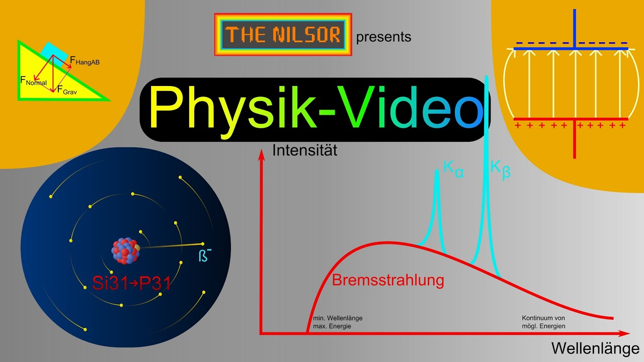 thenilsor physik r ntgenstrahlung youtube. Black Bedroom Furniture Sets. Home Design Ideas