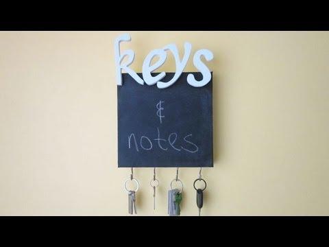 how-to-make-a-chalkboard-key-holder