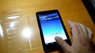 Asus Memo Pad hd7 ME173X 16 Gb review, обзор, огляд, тест, планшет, tablet