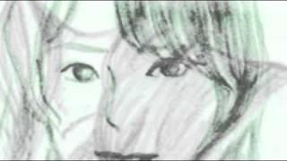 フリーイラスト画像で描写しています。 北原さんの個性がございます歌唱...