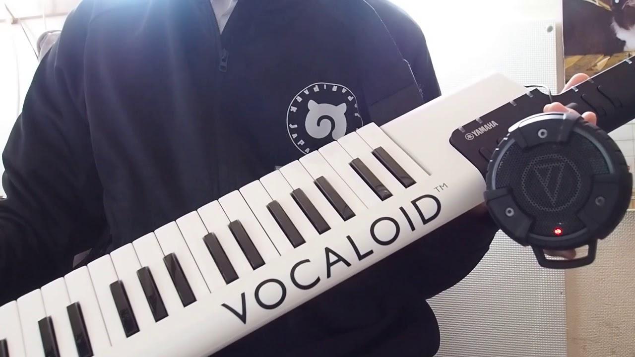 ベルクテーマソング「Just for Your Life」をボーカロイドキーボードで弾いてみた