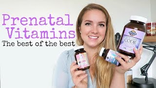 WHICH PRENATAL VITAMINS DO I TAKE? || MY FAVORITE GARDEN OF LIFE PRODUCTS