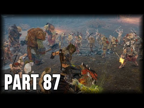 Middle-earth: Shadow Of War - 100% Walkthrough Part 87 [PS4] – Slaughter Tribe: Cirith Ungol