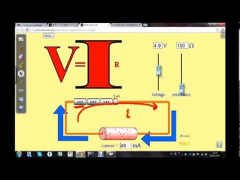 ฟิสิกส์ ม.6 - ไฟฟ้ากระแสตรง กฎของโอห์ม