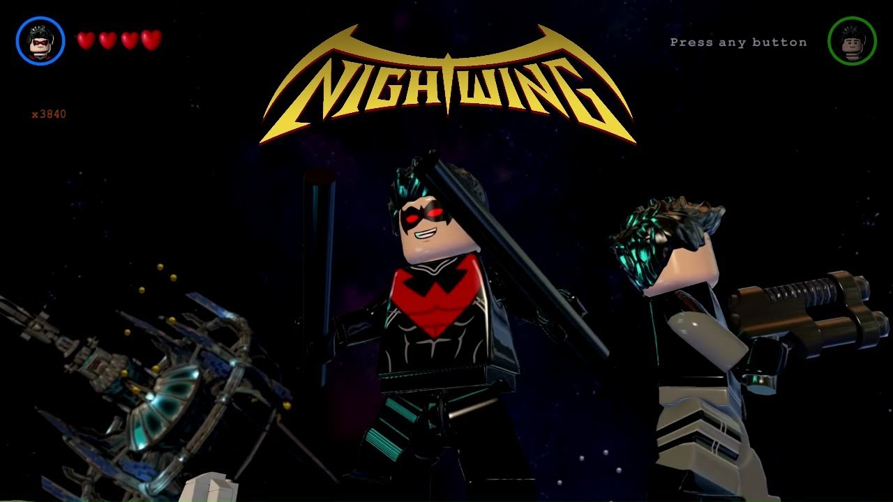 LEGO Batman 3: Beyond Gotham - Nightwing Gameplay and ...