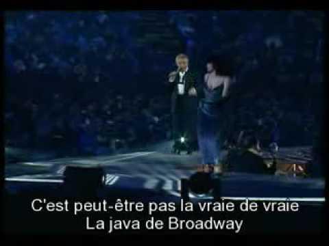 la java de broadway sous titres sardou lyrics karaoke