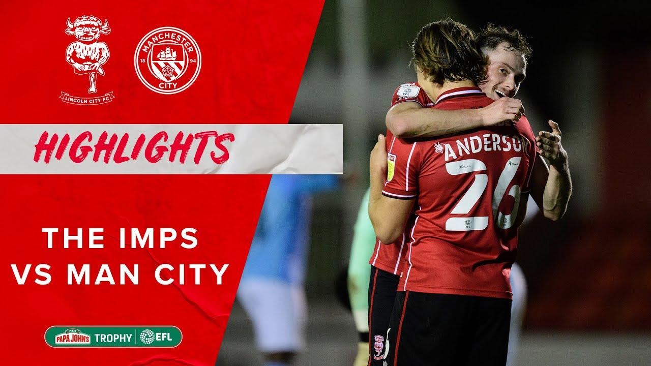 Линкольн Сити  1-1  Манчестер Сити U21 видео