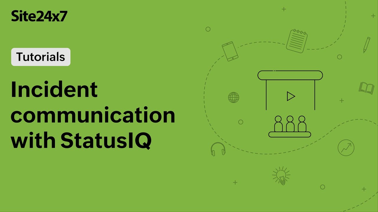 Communicate incidents in real-time with StatusIQ