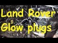 Land Rover Discovery 3 glow plugs  remove