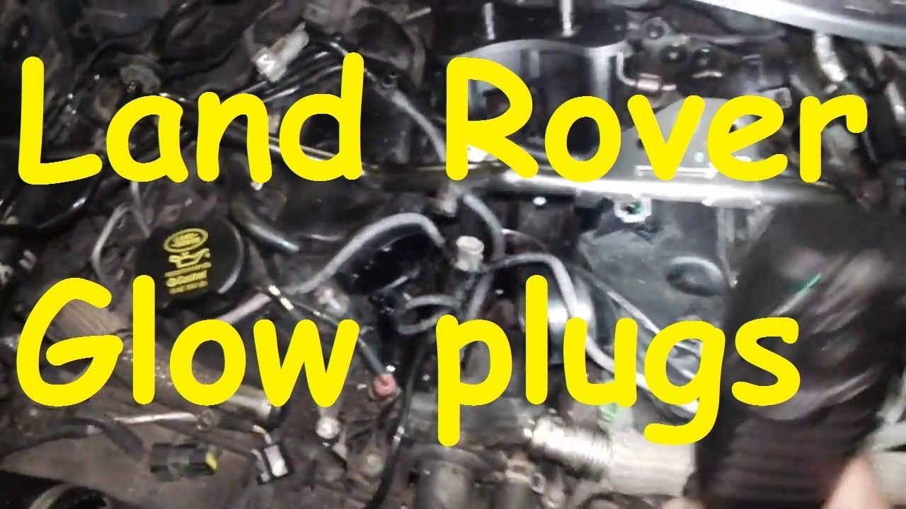Land Rover Discovery 3 Glow Plugs Remove Youtube