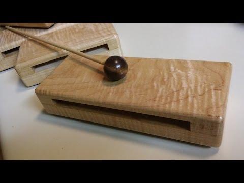 Wood Block Percussion