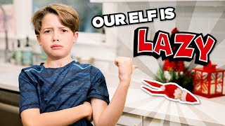 Why is our Elf on the Shelf so LAZY?  // The Holderness Family Video