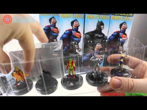 DC Heroclix Worlds Finest Case Unboxing