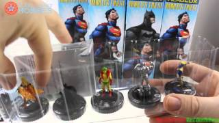 DC Heroclix Worlds Finest Case Unboxing
