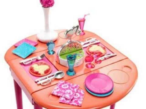 Details Barbie Dinner To Dessert Dining Room Set Deal