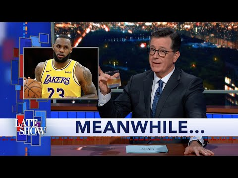 Meanwhile... Does LeBron