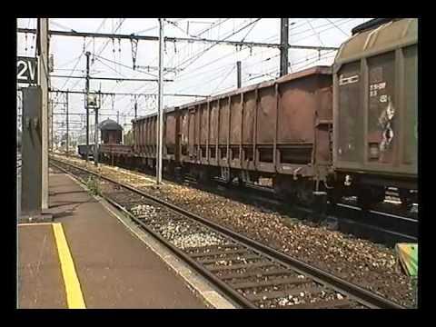 FRET SNCF VILLENEUVE ST GEORGES  14 6 2000 PART 4