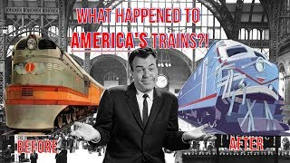 What Happened to America's Passenger Trains?! The Truth - from Class to Crap!