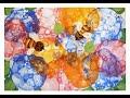 Как нарисовать цветы. Нетрадиционная техника. Поэтапное рисование. Видео урок для детей 6-8 лет.