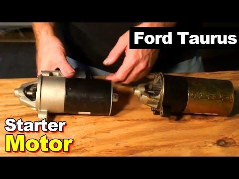 2003 ford taurus starter motor youtube 02 Ford Taurus Ses Starter Relay Wiring Diagram 2001 ford taurus wiring harness