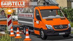 LS17 BAUSTELLE #1: Straße absperren und Baustelle vorbereiten! | Farming Simulator