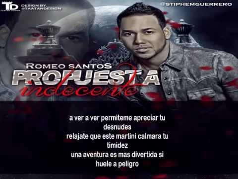 Romeo Santos - Propuesta Indecente + Letra - YouTube  Romeo Santos Propuesta Indecente Letra