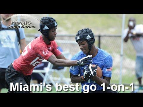 RCS Miami: WR vs. DB - Part 1 (Focus on top WRs)