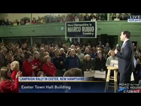 Marco in New Hampshire: We're Going To Turn America Around | Marco Rubio for President