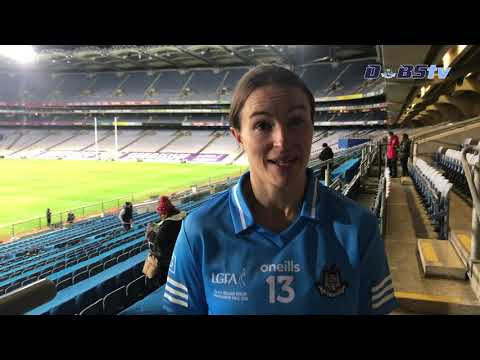 Dublin Ladies Captain Sinead Aherne speaks to DubsTV after All-Ireland victory