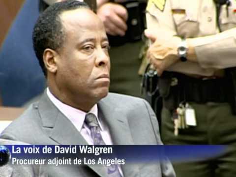 Le docteur de Michael Jackson condamné à 4 ans de prison
