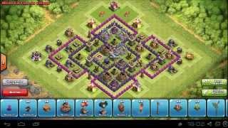 Clash of clans - HDV 8 FARMING (4 MORTIERS)