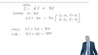 ACCA F5 Limiting Factors Lecture 3 Example 1