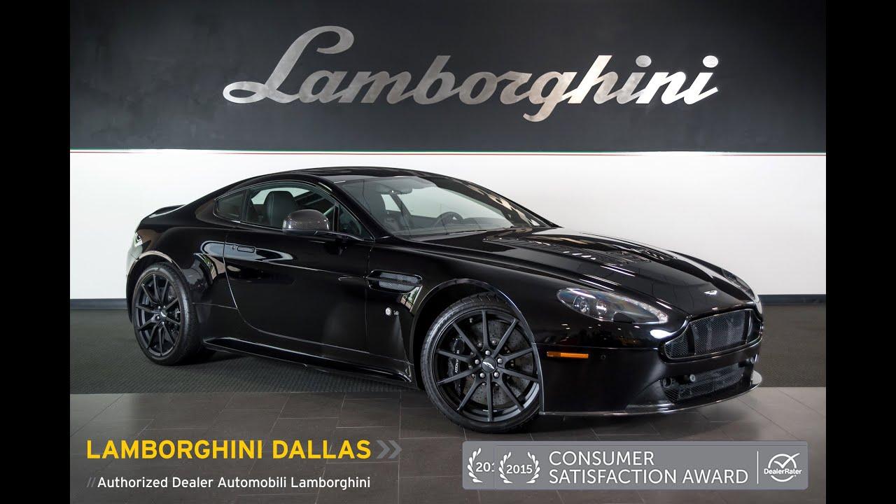 2015 Aston Martin V12 Vantage S Onyx Black Lt0783 Youtube