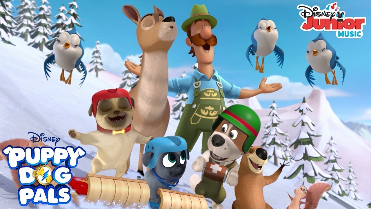 The Alpine Puppy Yodel Music Video Puppy Dog Pals Disney Junior Youtube