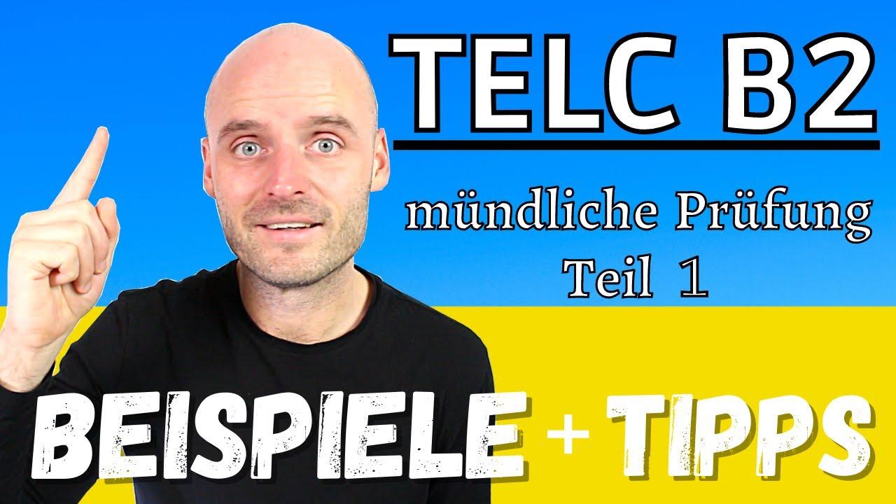 TELC B2 mündliche Prüfung Teil 1 | 6 WICHTIGE Tipps + Beispiel