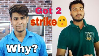Technical Sagar got 2 strike😮 why?