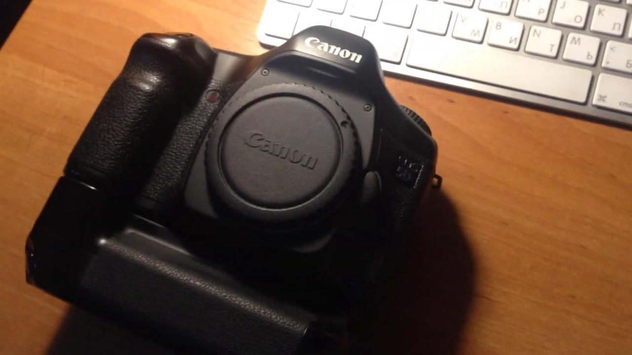 Как узнать пробег Canon 5D?