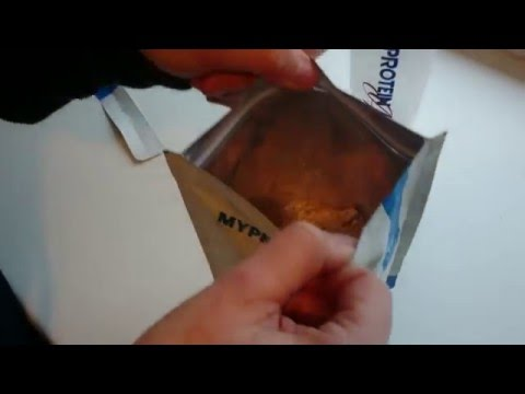 My protein impact chocolate flavor whey protein 250g unbaging testing