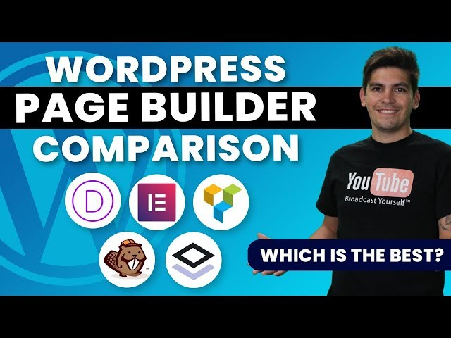 The Best Wordpress Page Builders Compared 2020 - Brizy, Elementor, Divi Compared!🔥