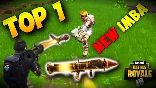 Fortnite: Battle Royale,New Update,New Imba | My first TOP 1 Witch RPG / 3 SEASON