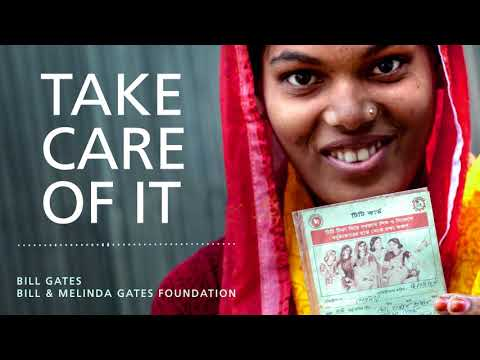 Bill Gates explains the importance of the HPV vaccine to women in developing countries